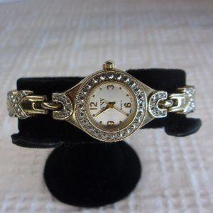 GVNY Gold Tone Wrist Watch